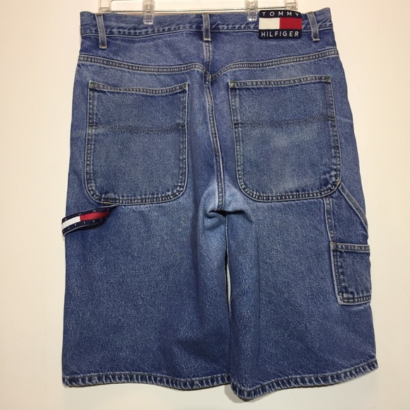 4398c03f95 Tommy Hilfiger Carpenter Shorts Vintage Hip-Hop 34.  M_5b775b9034e48ab193d45630